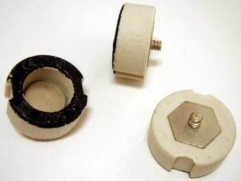 <p> Контрольная керамическая гильза для предохранителя 35A/500В, Ifö Electric, 35/500ST</p>