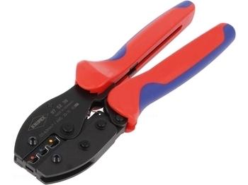<p> Клещи для опрессовки кабельных наконечников 0,5...6мм², Knipex, 975236</p>