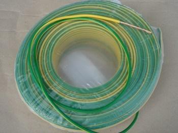 <p> Vask juhe 2,5 mm², kolla-roheline, kiuline, Draka</p>