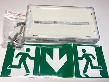 <p> LED avariivalgusti Awex, ETS/1W/C/3/SA/X/WH, Exit S</p>