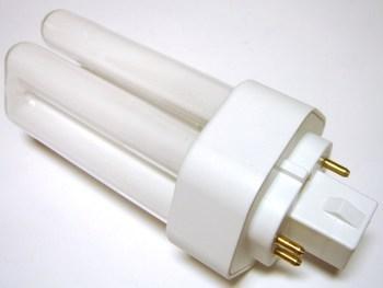 "<p> Kompakt-luminofoorlamp 13 W, Osram Dulux T/E Plus 13W/840/GX24q-1, <span style=""color: #ff0000"">4-PIN</span>, 446967</p>"