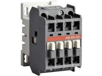 <p> Kontaktor 3-faasiline 25A(16kW), A9-40-00, ABB, 1SBL141201R8000</p>