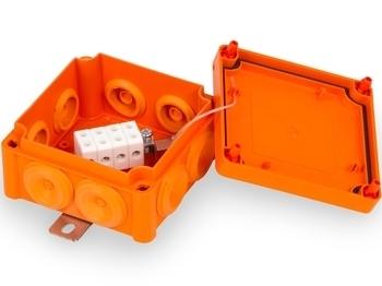 <p> Tulekindel harukarp 100x100x53,5 mm, FPT1010PP46, Ensto Vulcano, E30-90</p>