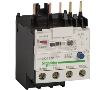 <p> Termokaitse 0,23 - 0,36A, LR2K0303, Schneider Electric, 023037</p>