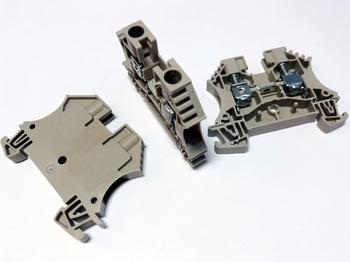 <p> Riviklemm 6 mm², hall, WDU 6, Weidmüller, 1020200000</p>