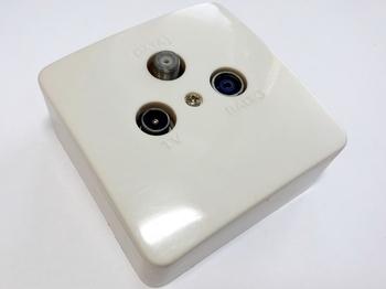<p> TV - antenni pindpaigaldusega pistikupesa</p>