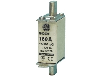 <p> Sulavkaitsmed 160A, NHG000/160, General Electric</p>