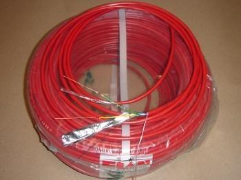 "<p> <span style=""color:#ff0000;"">Halogeenivaba</span> signalisatsioonikaabel J-H(St)H 1x2x0,8 mm+0,5 mm, ETK Kablo, punane</p>"