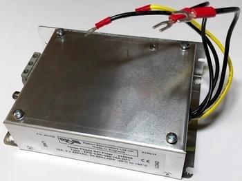 <p> Фильтр подавления радиопомех Rasmi Electronics, FFR-CSH-080-16A-RF1, 3-фазный, 16А, 3x480В</p>