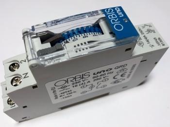 <p> Ööpäevane elektromehaaniline aegrelee Orbis, Uno QRD</p>