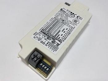 """<p> Электронный <font color=""""#ff0000"""">LED</font> трансформатор 13-40Вт, 300-1050мА, макс. 44В, TCI, PRO FLAT 40 BI, 127575</p>"""