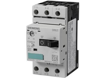 <p> Mootorikaitselüliti 3-faasiline 4,5-6,3A, Siemens, 3RV1011-1GA10</p>