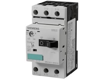<p> Mootorikaitselüliti 3-faasiline 0,55-0,8A, Siemens, 3RV1011-0HA10</p>
