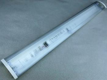 <p> Valgusti 2x36 W, Lenna, läbipaistva kupliga</p>