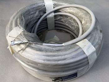 <p> TV-antenni kaabel RG6, hallis Ø16 mm plastik kõritoru sees</p>