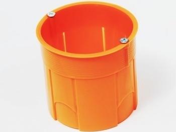 <p> Монтажная коробка для бетона Ø68x60мм, Simet, Z60DFw</p>