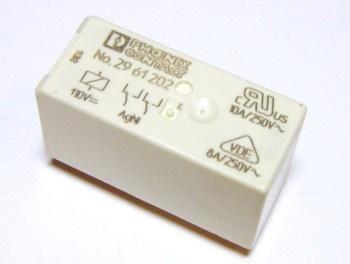 <p> Relee Phoenix Contact REL-MR-110DC/21-21, 2961202</p>
