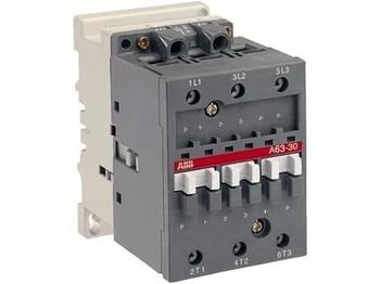 <p> Kontaktor 3-faasiline 115A(74kW), A63-30-00, ABB, 1SBL371001R8000</p>