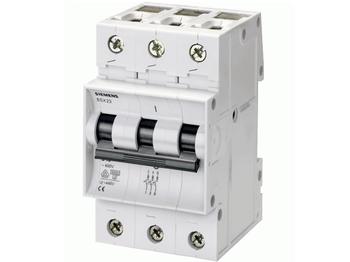 <p> Moodulkaitselüliti 3-faasiline, B 32A, Siemens, 5SX23</p>