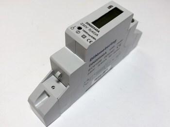 <p> Moodulelektriarvesti 1-faasiline 1-tariifne 5-40A, DIN00540A, DINmetering</p>