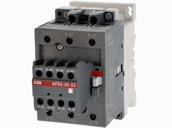 <p> Kontaktor 3-faasiline 115A(74kW), AF63-30-22, ABB, 1SBL377001R7022</p>