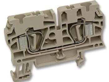 <p> Riviklemm 4 mm², hall, ZDU 4, Weidmüller, 1632050000</p>