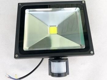"""<p> <span style=""""color: #ff0000"""">LED</span> prozektor 30 W, NL-F-30W-I, liikumisanduriga, lühikese kinnitusklambriga</p>"""