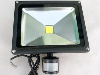 """<p> <span style=""""color: #ff0000"""">LED</span> prozektor 30 W, TI-GP-FL30W, liikumisanduriga, lühikese kinnitusklambriga</p>"""