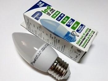 <p> LED lamp 5,5 W, Pled, C37, Pluvo</p>