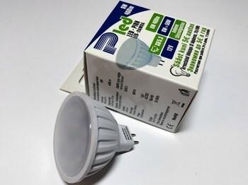 <p> LED lamp 6W, 12V, 120°, Pled, MR16, Pluvo</p>