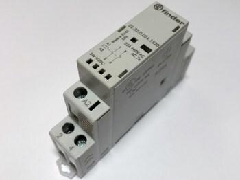 <p> Moodulkontaktor 1-faasiline 25A(4,6kW), Finder, 22.32.0.024.1520</p>