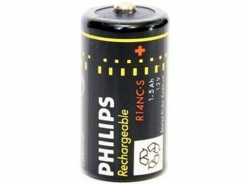 <p> Aku Ni-Cd 1,2V, 1,5Ah, Philips, R14NC-S</p>